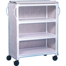 IPU Linen Cart Three-Shelf Linen