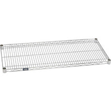 "Nexel Wire Shelf 24""Wx14""D Chrome"