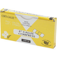 Certified Safety Certi-Gauze Bandage Compress
