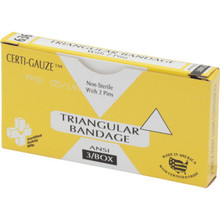 Certified Safety Triangular Bandage Package Of 3