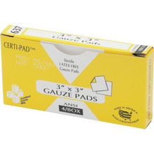 Certified Safety Certi-Gauze Pads