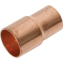 "Copper Fitting Reducer - 3/4"" x 1/2"""