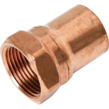 "Copper Female Street Adapter - 3/4"" x 3/4"""