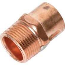 """Copper Male Street Adapter - 1/2"""" x 1/2"""""""