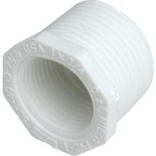 """PVC Bushing Schedule 40 - 3/4"""" x 1/2"""" - MIP x FIP"""