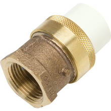 "CPVC Brass Transition Union - 1/2"" x 1/2"""