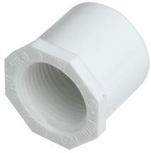 """PVC Bushing Schedule 40 - 1"""" x 3/4"""" - SPG x FIP"""