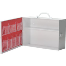 Medi-First Empty 2-Shelf Industrial First Aid Kit With Pocket