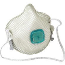 Moldex Handystrap N100 Disposable Respirator With Exhale Valve - Package Of 5