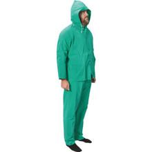 WestChester Heavy Duty Green Rain Suit Large