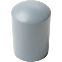 Tube End Cap Gray 4 Per Package