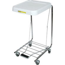 R and B Wire Medium-Duty Hamper With Foot Pedal Single