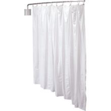 "Privacy Curtain Kit White 72""Lx90""W Telescoping"
