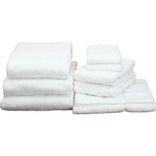 Basic Cotton Wash Cloth Cam 12x12 .75 Lb/Dozen White Package Of 60