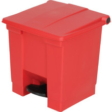 Rubbermaid Step-On Medical Waste Receptacle Red 8 Gallon