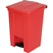 Rubbermaid Step-On Medical Waste Receptacle Red 12 Gallon