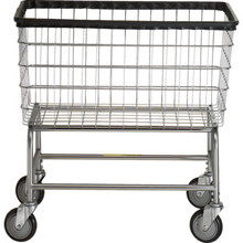 R and B Wire Laundry Cart Large