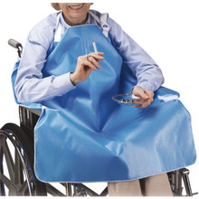 Wheelchair Smokers Apron Blue