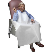 Geri-Chair Smokers Apron White