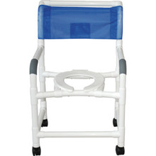 MJM Shower Chair Deluxe Royal Blue