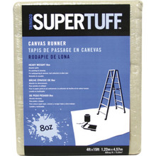 Canvas Drop Cloth, 8 Oz, 4 x 15'