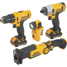 Combo Kit 12V Max Cordless Lithium Ion 4 Tool