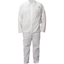 Kimberly-Clark Professional Kleenguard A20 Zipper Front Coverall - Large