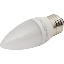 LED Bulb TCP 5W Torpedo (40W Equivalent) 2700K Medium Base Frost Dimmable