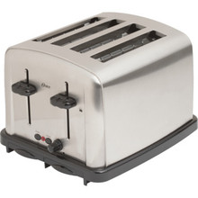 Oster 4-slice Toaster Brushed Stainless Steel