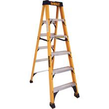 DeWalt 6' Fiberglass Step Ladder Type IA