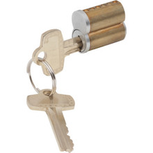 6-Pin Interchangable Core Keyway A, Master Key System 44, Satin Chrome