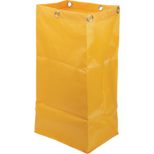 Housekeeping Cart Vinyl Replacement Bag Gold