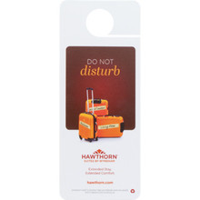 Hawthorn Suites Do Not Disturb Door Hanger, Case of 100