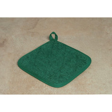 Pot Holder 7x7 Green Package Of 12