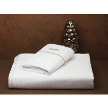 "Holiday Inn Express Pillowcase King White With ""Firm"" Embroidery Case Of 36"