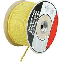 "3/8"" X 600' Twisted Polypropylene Rope"