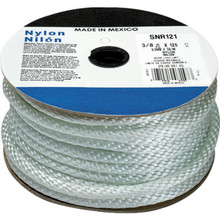 "3/8"" X 125' Solid Braid Nylon Rope"