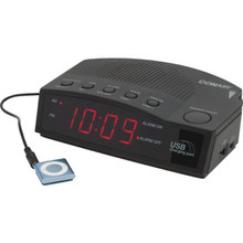 Conair# Hospitality Alarm Clock Radio With USB Charging Port