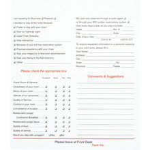 Generic Comment Card, Case of 500