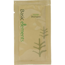 Basic Elements - Conditioning Shampoo Packet .35 Oz, Case of 1000