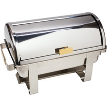 8 Quart Stainless Steel Chafer Dish