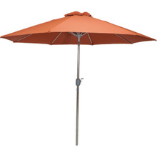 9' Garden Umbrella Paprika/Burnt Orange
