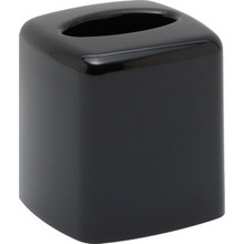 Lacquerware Black Boutique Tissue Box