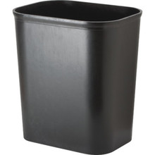 14 Quart Plastic Trash Can Black UL Approved
