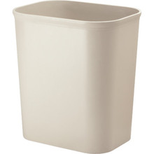 14 Quart Plastic Trash Can Sandstone UL Approved