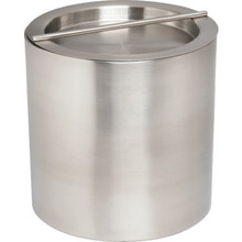2 Quart Stainless Steel Round Ice Bucket