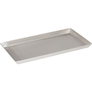 Brushed Rectangular Tray Stainless Steel
