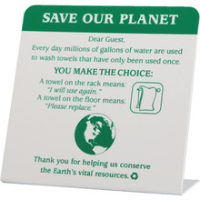 Save Our Planet Towels Easel Package Of 50