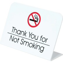 Thank You For Not Smoking Easel Package Of 50