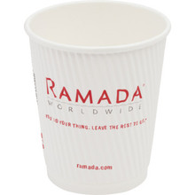 Ramada Ripple 9 Ounce Hot/Cold Cup, 900/Case-Unwrapped